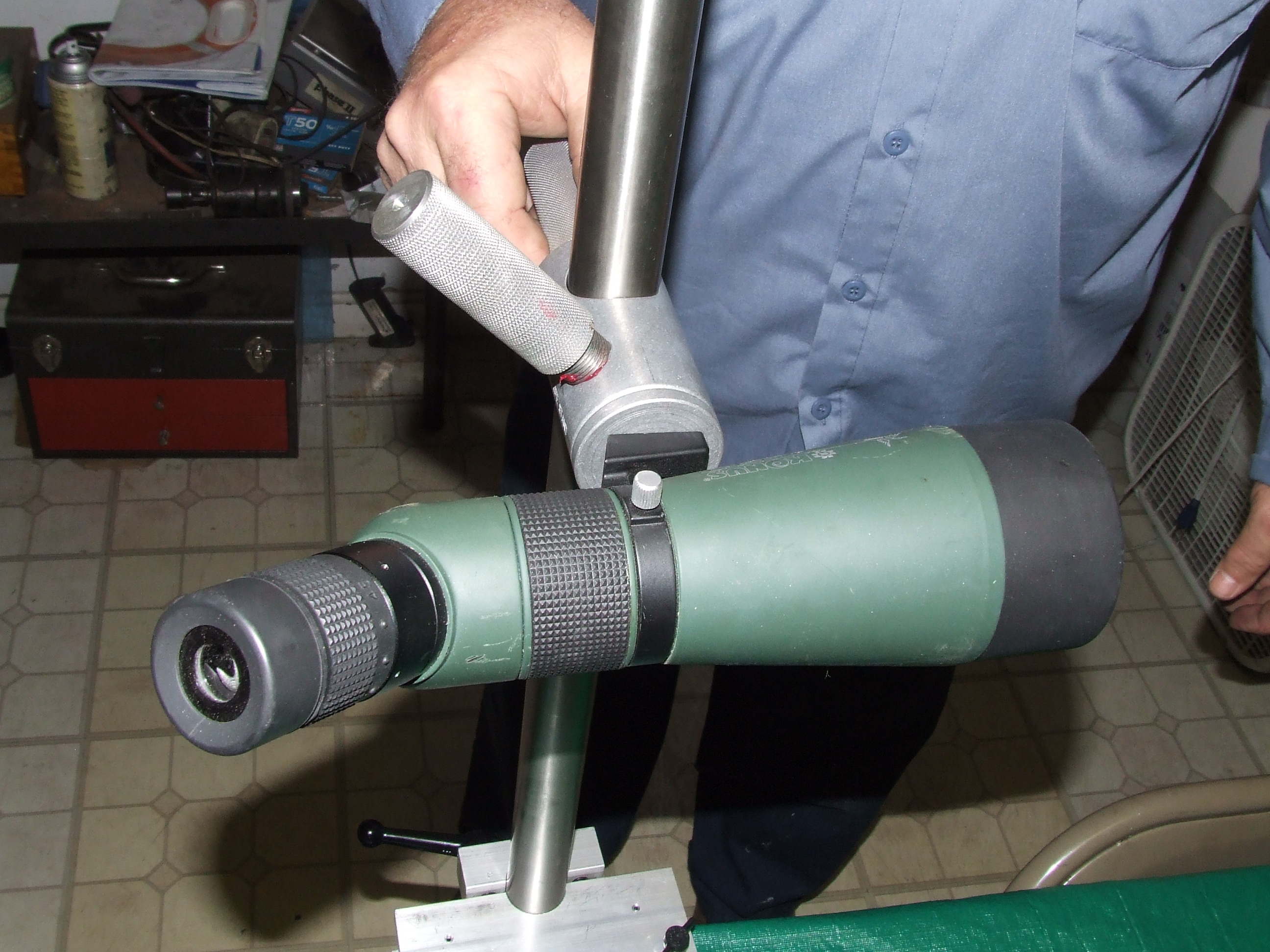 Bench Mount Kit Custom Spotting Scope Stands For Shooters